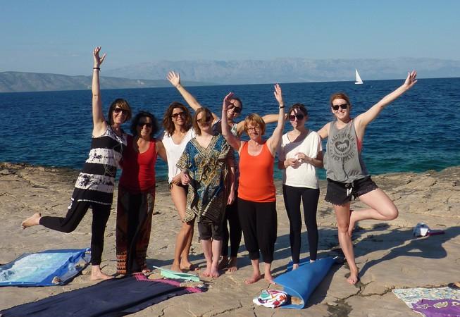 Kroatien: Gruppenfoto