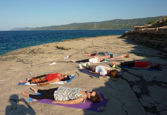 Kroatien: Abendmeditation