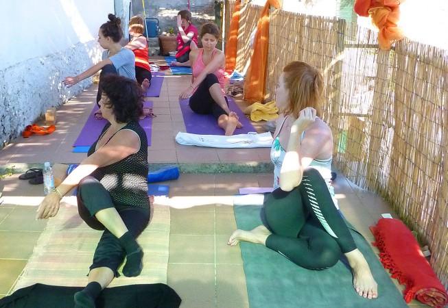 Kroatien: Yoga terrasse