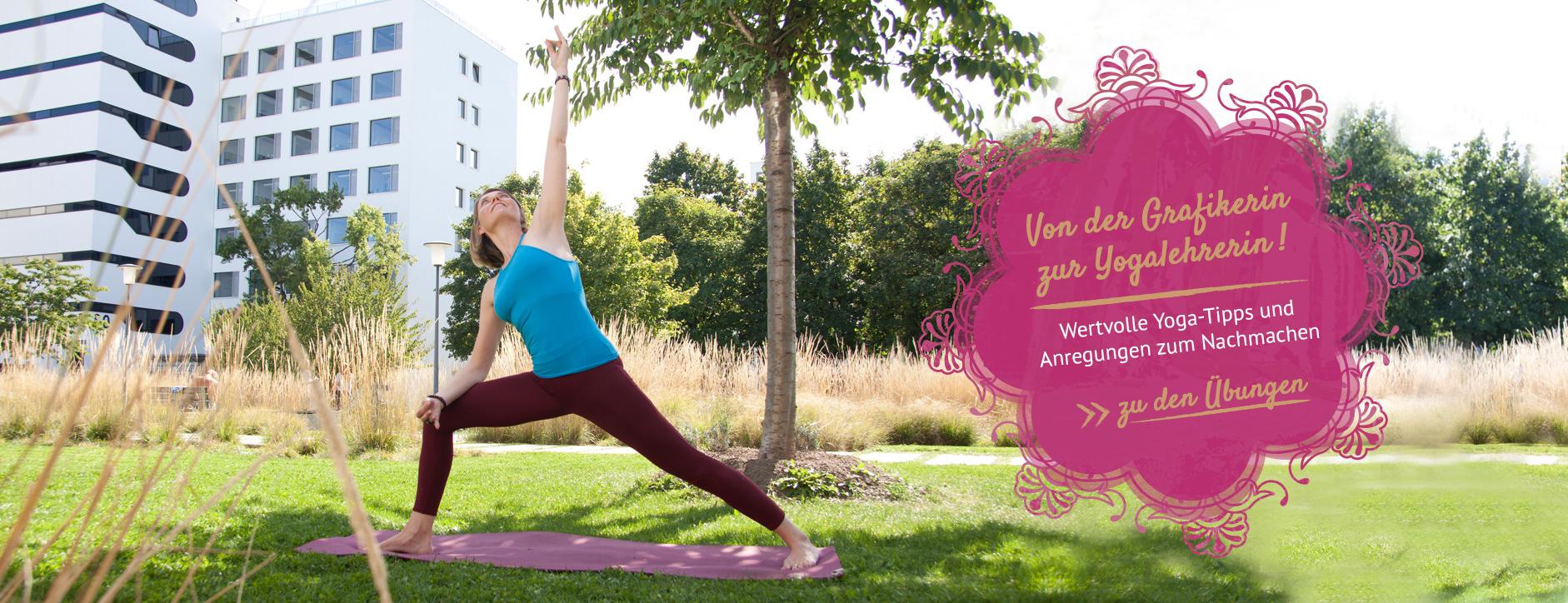 Yoga Artikel: Yoga-Übungen zum Nachmachen