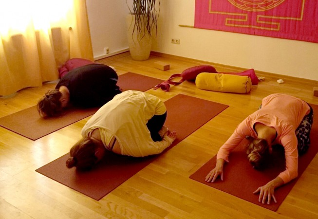 Yoga Workshop in der Sahaja Akademie