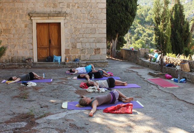 Yoga Special Location Malo Grabje