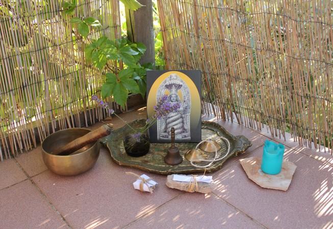Patanjali auf der Yoga Terrasse