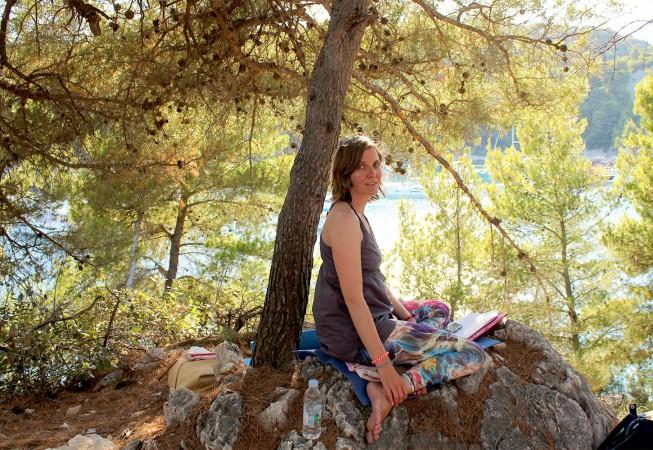 Wasser Meditation Milna