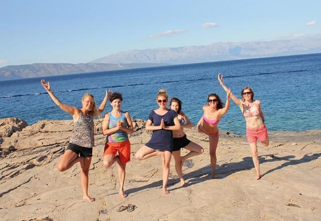Yoga Urlaube in Kroatien: Meditation am Strand