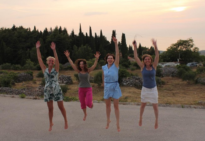 Yoga Urlaube in Kroatien: Sunset Jump