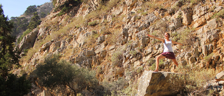 Yoga Imbros Gorge Kreta