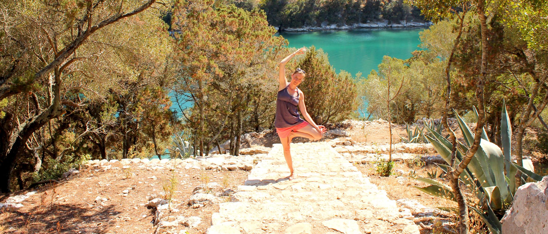 Yoga Insel Mljet Kroatien